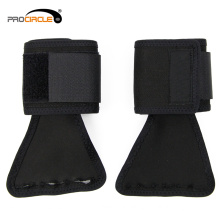 ProCircle Black Polyster Wrap GYM Fingerless Gloves