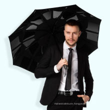 Customized Fast Close Fold Automatic Umbrella with Logo Printing