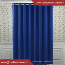 100% polyester Le plus récent rideau de rideau noir