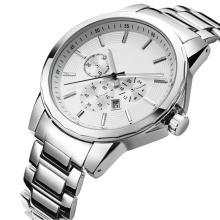 Reloj de cuarzo del nuevo estilo 2016, reloj de acero inoxidable Hl-Bg-180 de la manera