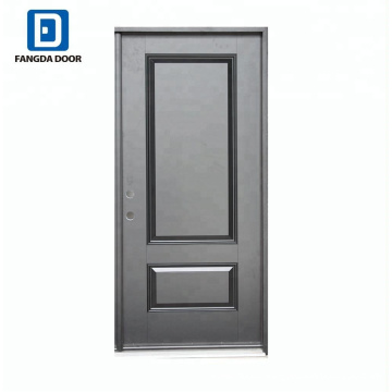 Fangda special visceral black painted fiberglass kitchen designs door