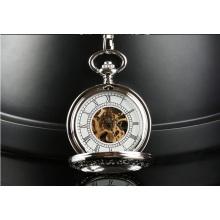 Relógio de bolso automático do movimento automático do projeto da forma