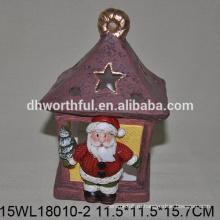 2016 новый стиль керамические рождественские украшения постоянного Санта-Клауса
