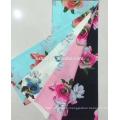 Cotton Slub Print Woven Fabric Stock Lot