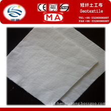 Polyester Staple Fiber Needle Punched Nonwoven Geotextile