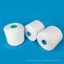 Gros matériel de couture anneau torsion 30 2 polyester fil à coudre