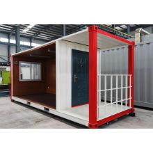 Einfach zu installierendes und hochwertiges Flatpack Container House