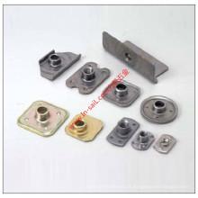 precisão personalizada dos produtos da chapa metálica do OEM da em-vela que carimba as peças