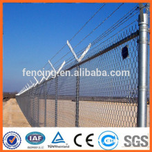 used chain link fence for sales/pvc coated chain link fence/galvanized chain link fence