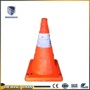 light weight USB rechargeable telescopic road cone