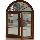 European and American Casement Style Aluminium Wood Window