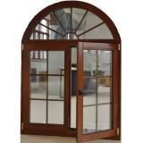 European and American Casement Style Aluminium Wood Window