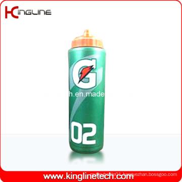 Plastic Sport Water Bottle, Plastic Sport Bottle, 1000ml Plastic Drink Bottle (KL-6122)