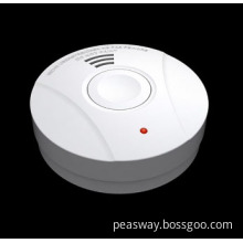 Household Fire Alarm with 10-Year Lithium Battery and Hush Button (PW-517)