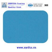 Peinture en poudre de bleu mat