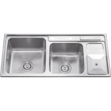 L5709 S. S Welding Double Bowl Sink