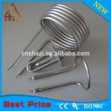 Éléments de chauffage de la bobine annulaire