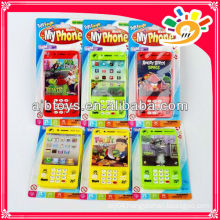 lighting musical toy mobile phone for kids