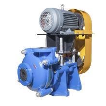 2-дюймовые резиновые шламовые насосы с двигателем над основанием