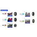 Mining truck tire tyre for heavy duty truck 1#Severe Road Condition: Rocky, slope  2#Soft Road Condition: Soft, muddy