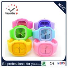 Relojes de pulsera de jalea de silicona reloj de pulsera de señoras de moda (DC-1304)