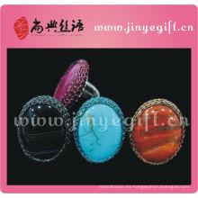 Artesanía cultural de ShangDian artesanal anudada anillo de compromiso marca