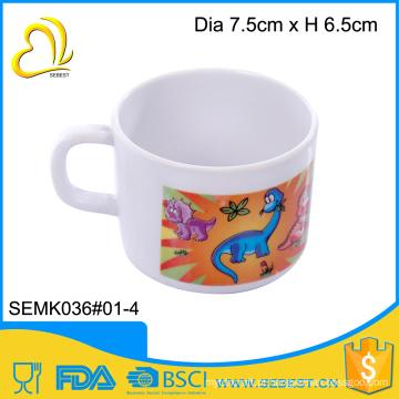 Belo impressão drinkware rodada xícara de chá de água potável