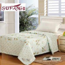 Factory Directly printedSummer quilts cheap polyester quilt full