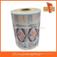 High level package material clear heat shrink plastic film of sleeve label print
