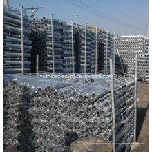 Hot DIP galvanizado Rebar parte incorporada, built-in Fitting, Rebar terra parafuso