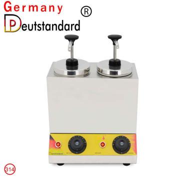 Doppeltank Soßenwärmer Thermostat Marmeladenwärmer