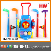 Hot Sale children golf toy set kids golf carts