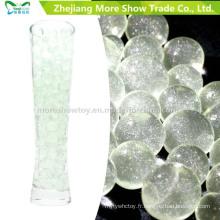 Perles de gel de sol de cristal de paillettes vertes décoration de mariage
