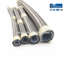 SAE Standard High Temperature Range Braided with Stainless Steel PTFE Material Teflon Hose