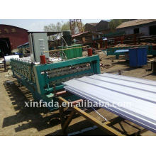 Prepainted Sheet Double Layer Roll Forming Machine