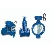 China Famous Butterfly Gate Foot Valve Products