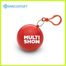 Werbeartikel Kunststoff Ball Regen Poncho