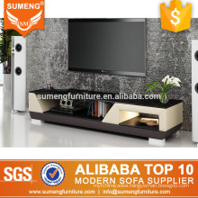 china factory manufacturer cheap l-shaped led tv stand furniture in india