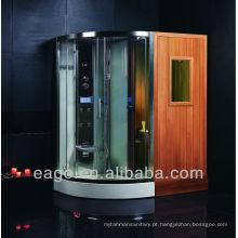 EAGO Combinado Steam Shower e Sauna Room (DS202F3)