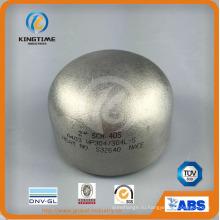По ANSI В16.9 Нержавеющая сталь 304/304l встык крышки штуцеров трубы (KT0382)