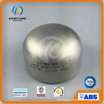 ANSI B16.9 Stainless Steel 304/304L Butt Weld Cap Pipe Fittings (KT0382)