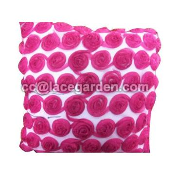 Nice Rose Design Cushion