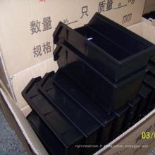 Bacs fixés au mur en plastique de boîte de rangement de haute qualité pour l'entrepôt industriel