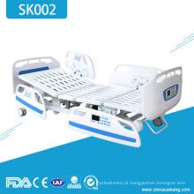 Cama médica elétrica do hospital Icu da mobília SK002 com funções