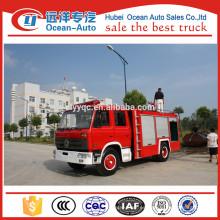 Dongfeng 5000liters tanque de capacidad de agua de bomberos