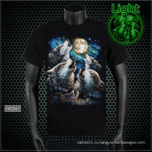 Y-100213 Светящаяся футболка для волка