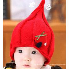 Красивые милые шерсти для детей вязаная шапка