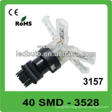12V 40 SMD 3528 3157 led car bulb