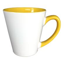 12oz tasses Latte céramique avec intérieur couleur par Mejosub