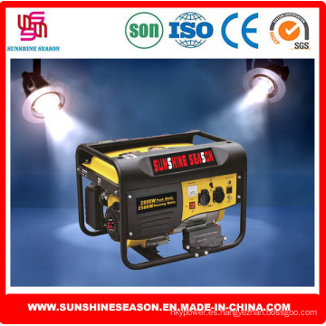 Conjunto de generador de gasolina 2.5kw para uso doméstico y al aire libre (SP4800E1)